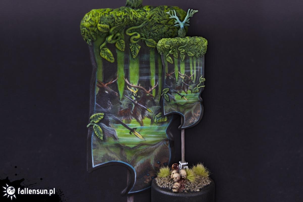The Wild Hunt Banner - Fallensun - Warhammer - T9a