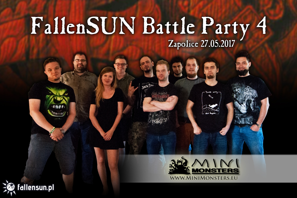 Tournament - Warhammer - Chaos Wastes FallenSUN Battle Party - 6th edition - Zduńska Wola - Zapolice - turniej - Triumph and Treachery