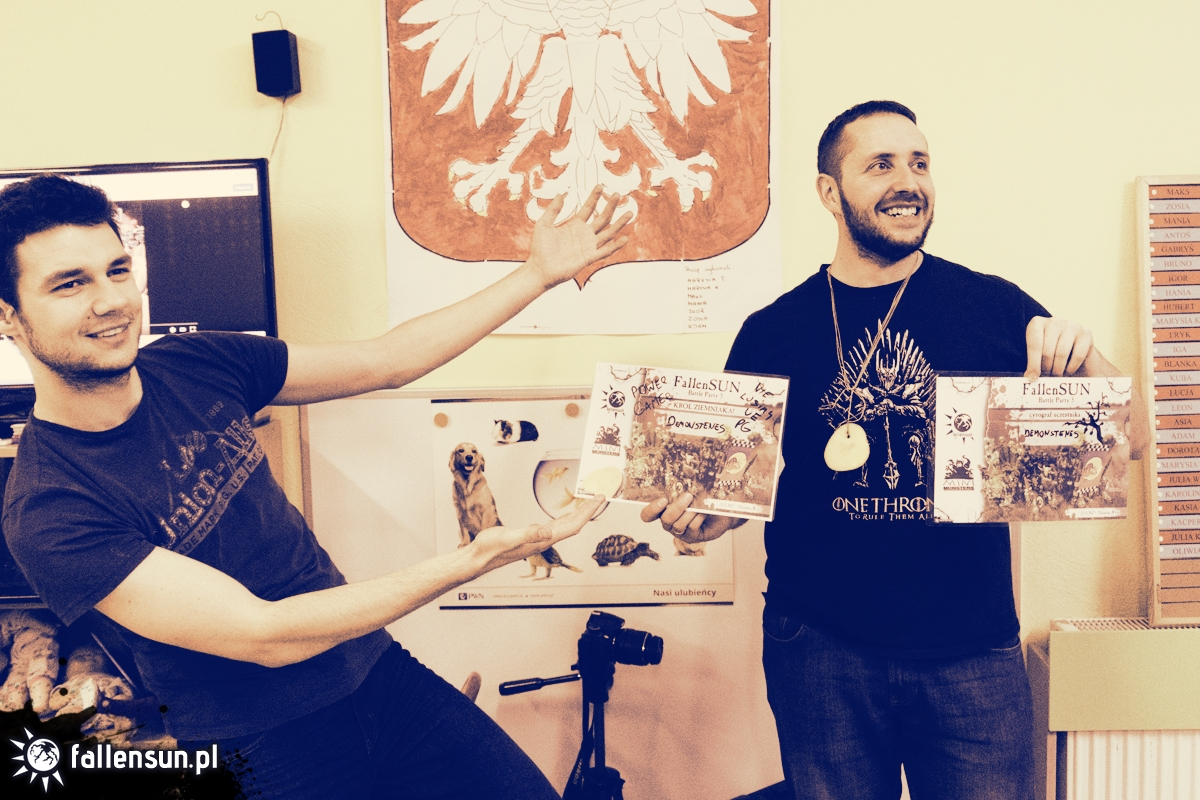 Tournament - Warhammer - Chaos Wastes - FallenSUN Battle Party - 6th edition - Zduńska Wola - turniej