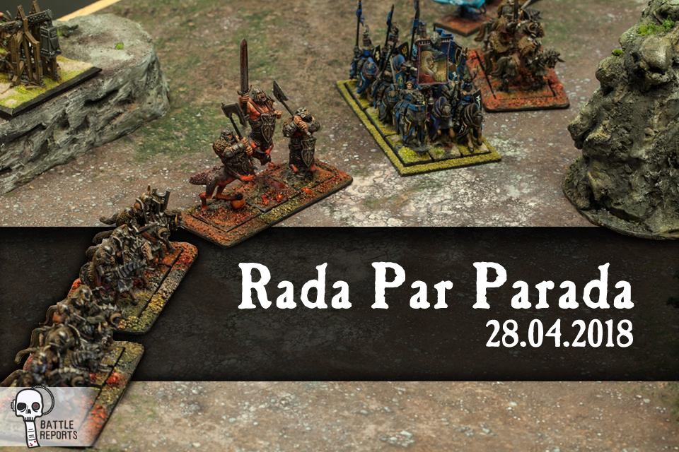 Tournament - Warhammer - 6th edition - Kontancin - Rada Par Parada - turniej