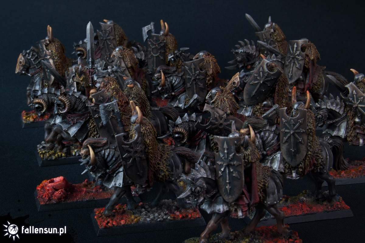 FallenSun - Chaos - Knights of Chaos - Undivided - Warhammer - Hordes of Chaos - Realm of Chaos - Mortals - Followers of Chaos