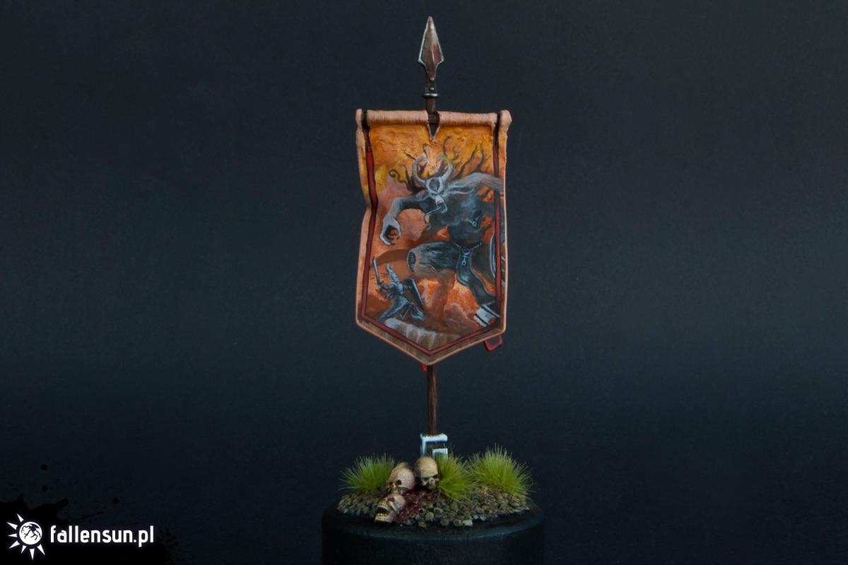 Aenarion the Ever Brave Banner - Fallensun - Warhammer - T9a