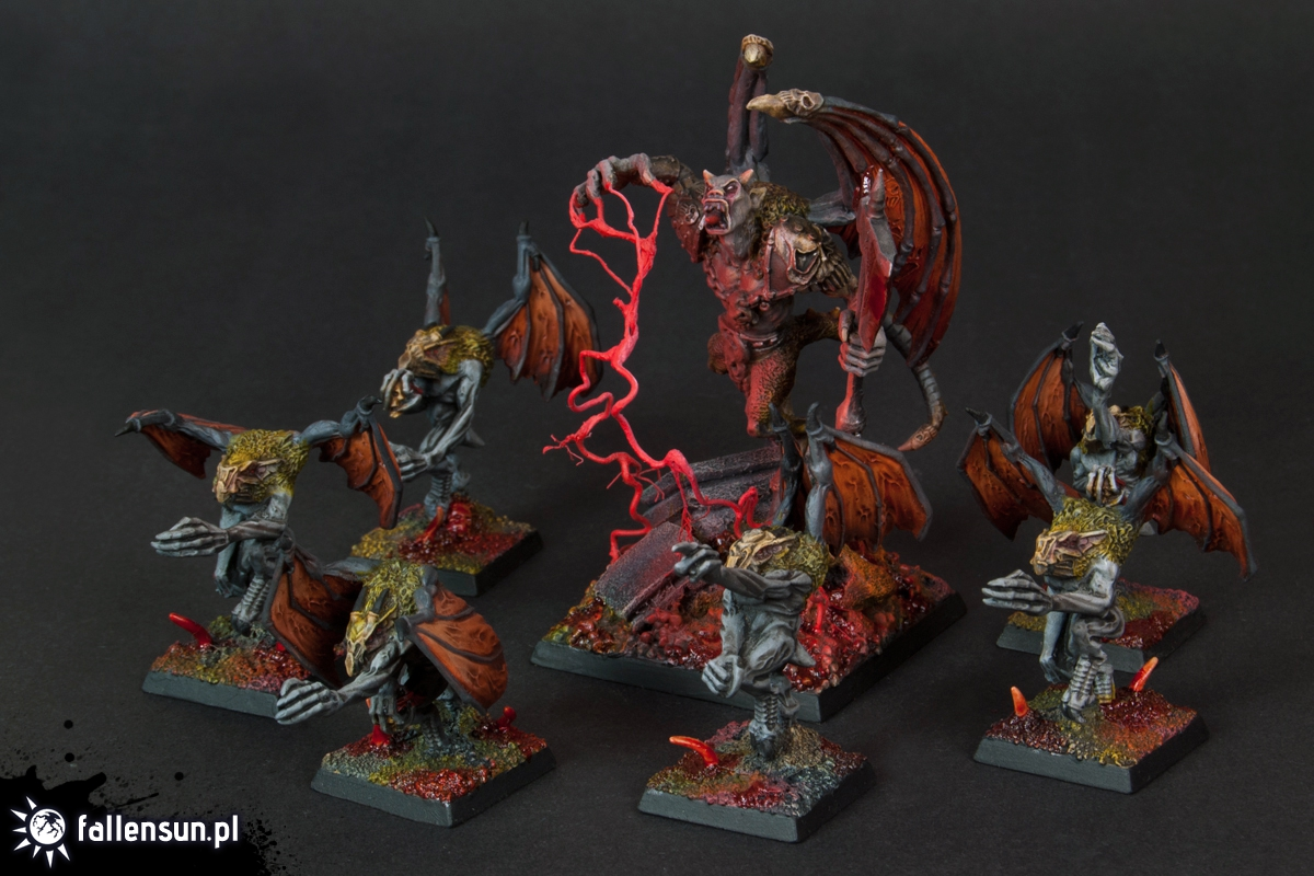 Chaos Furies - Warhammer - 6th edition - Hordes of Chaos - Furies - Undivided - Chaos