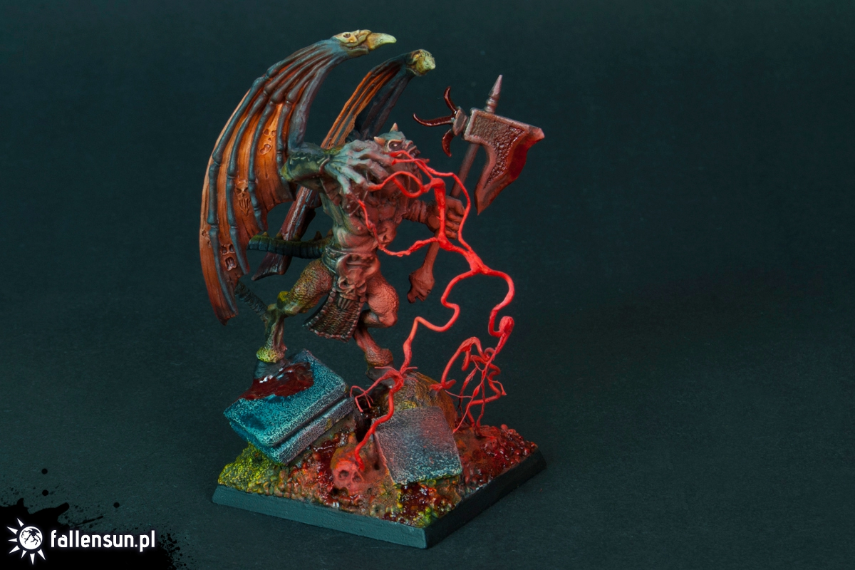 Exalted Daemon - Warhammer - 6th edition - Hordes of Chaos - Daemon Prince - Undivided - Chaos