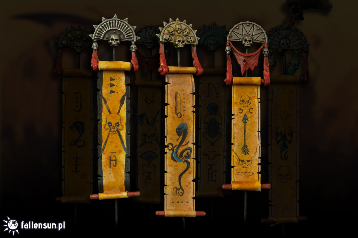Tomb Kings' Scrolls of Incantation - Fallensun - Warhammer - T9a