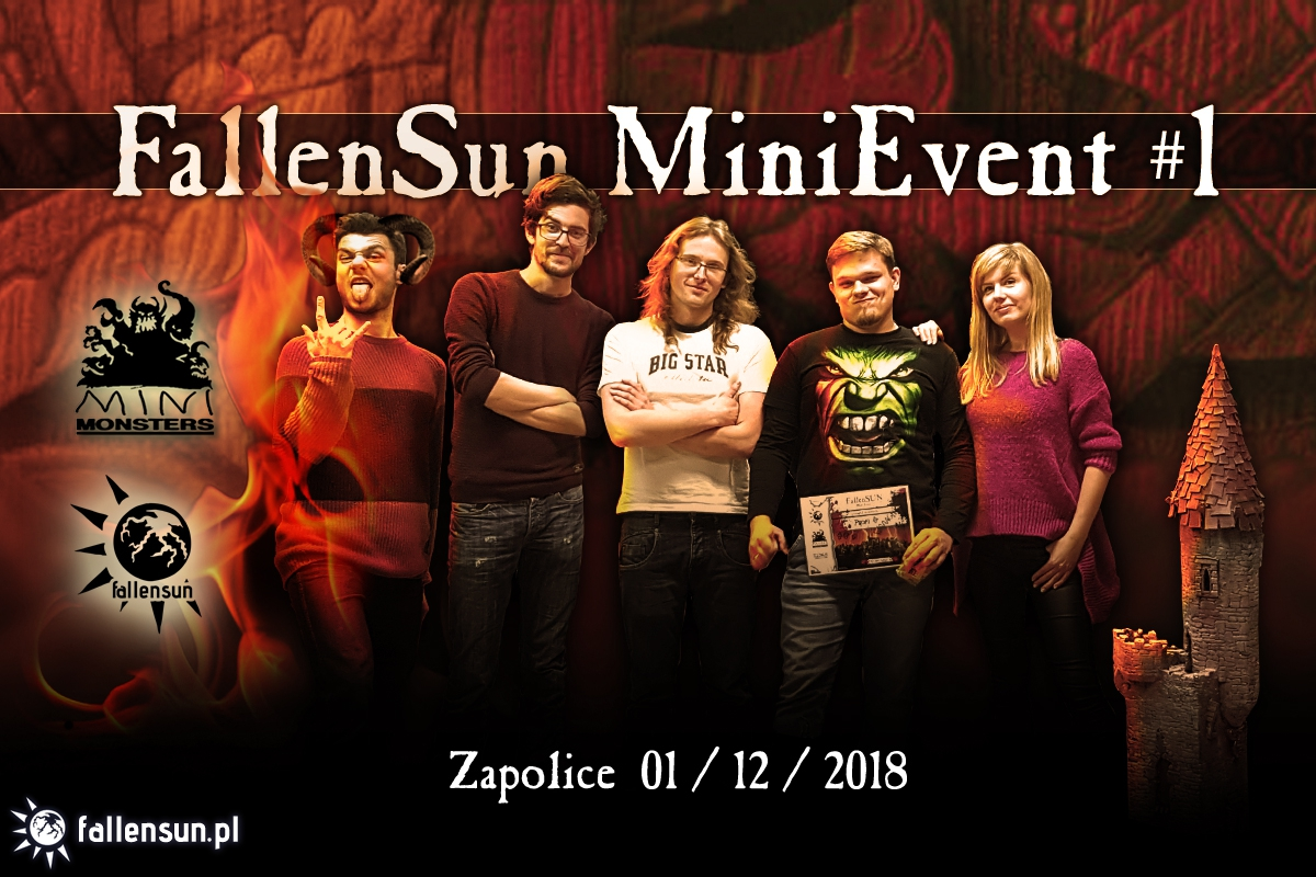 FallenSun - MiniEvent - 6th edition - WFB- Tournament - Warhammer Fantasy Battles