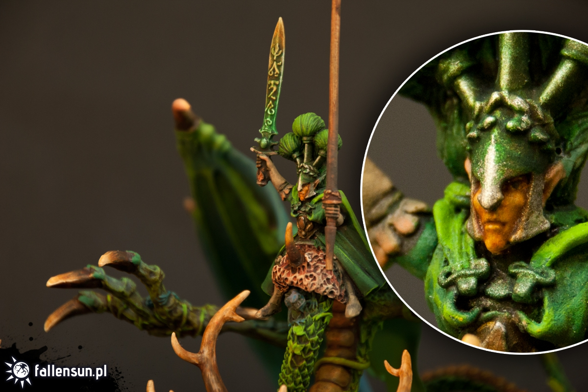 forest dragon - sisters of twilight - wood elves lord - warhammer - fallensun - 6th edition
