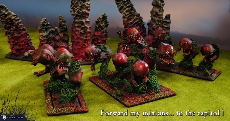 Warhammer - Daemons of Chaos - Beasts of Nurgle - Pestilent Beasts - t9a