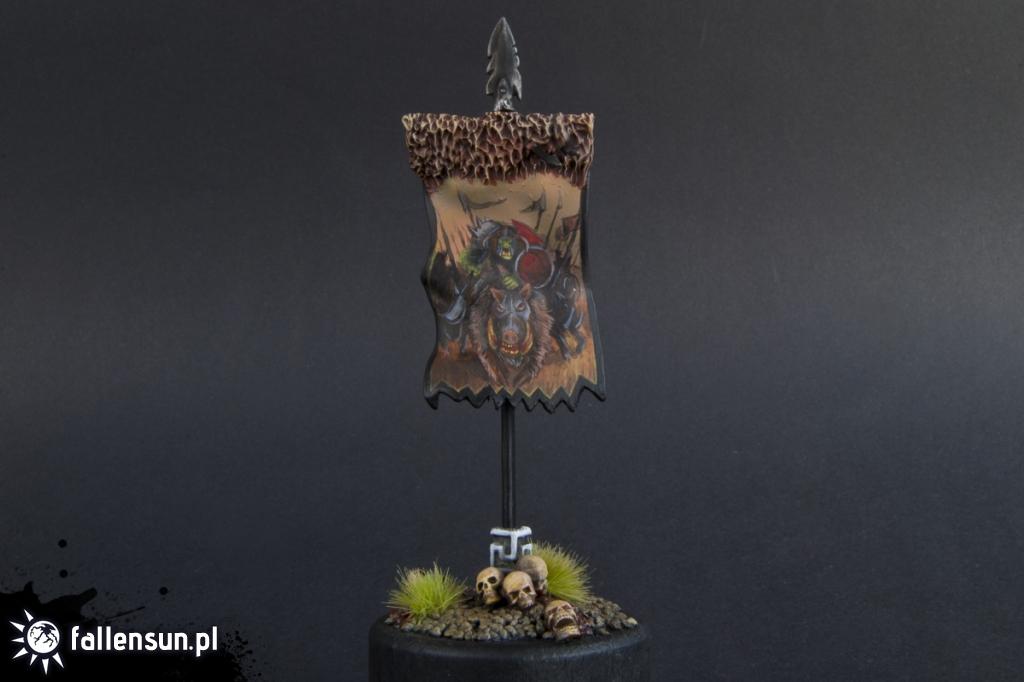 Banna of da Boar Boyz - Fallensun - Warhammer - T9a